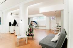 Studio fotografico | Location per shooting in Milan with Studio lights,  Studio assistant / crew and Daylight / total white