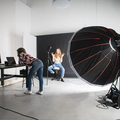 Photography & Film Studio  in Brussels with Blackout / total black,  Backgrounds and Infinity wall