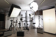 Photo & Video Studio near Milan in Other-in-it with Infinity wall,  Poly boards and Stereo system
