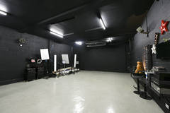Blackout Studio, Fulham, London in London with Stereo system ,  Make-up area  and Dressing room