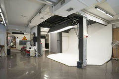 200 sq m photo studio in Rome