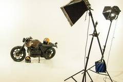 STUDIO FOTOGRAFICO - BERGAMO in Milan with Backgrounds,  Green screen / blue screen and Softboxes
